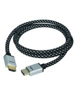 Woven Braided High Speed HDMI Cable 2m - UHD 4Kx2K