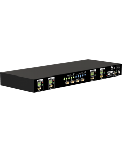 4x4 HDBaseT Lite matrix with PoC, HDCP2.2 & 4K2K60 (YUV420)