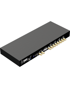 3G/HD/SD-SDI Quad-view Video Processor with front panel