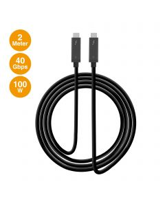 Thunderbolt 3 40Gbps Active Cable - 2M