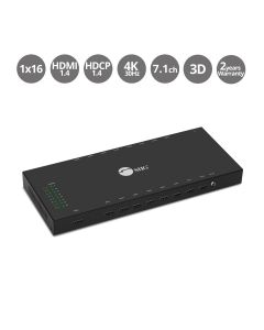 1x16 HDMI Splitter with 3D and 4Kx2K