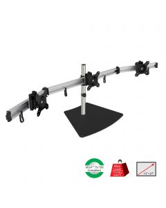 SIIG Premium Aluminum Triple Monitor Stand