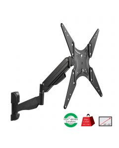 "Full Motion Gas Spring TV Wall Mount - 24"" to 55"""