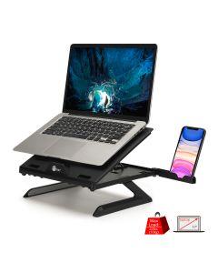 Adjustable Riser Stand Holder for Laptop & Smart Phone