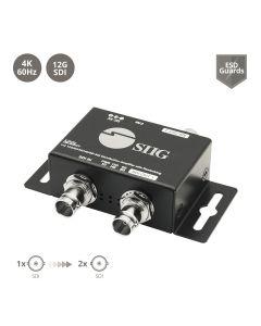 1x2 12G SDI Distribution Amplifier