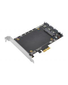 SATA 6Gb/s 3i+1 SSD Hybrid PCIe