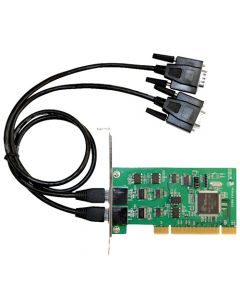 DP 2-Port Industrial 232/422/485 Universal PCI Adapter Card with 3KV Isolation