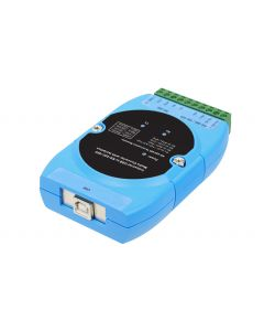 CyberX Industrial 1-port RS-422/485 USB to Serial Isolated Converter - Wide Temperature