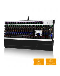 Mechanical Gaming Keyboard With 7 Color LED Backlit