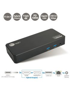 Universal Hybrid Triple 4K Video Docking Station with PD 3.0