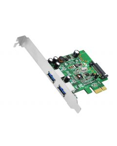 DP 2-Port USB 3.0 PCIe