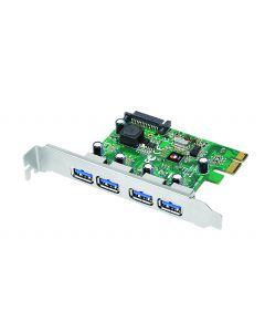 4-Port USB 3.0 PCIe