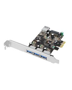 DP USB 3.0 4-Port PCIe i/e VL