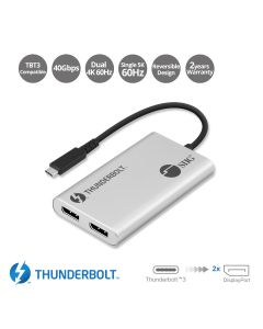 Thunderbolt 3 to Dual DP 1.2 Adapter