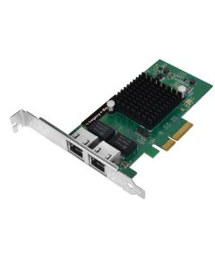 Dual-Port Gigabit Ethernet PCIe 4-Lane Card - I350-T2