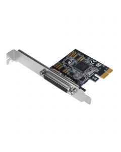 Single Parallel Port PCIe Card