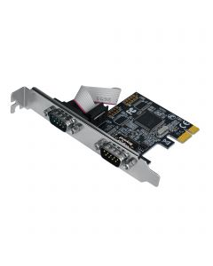 Dual-Serial Port / RS-232 PCIe Card