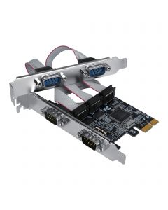 Quad-Serial Port / RS-232 PCIe Card