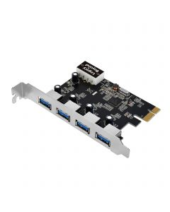 USB 3.0 4-Port (Ext) PCIe Host Card