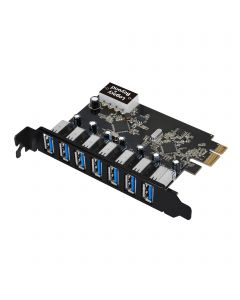 USB 3.0 7-Port Ext PCIe Host Adapter