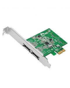 DP eSATA 6Gb/s 2-Port PCIe