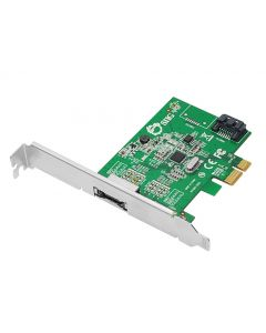 DP eSATA 6Gb/s 2-Port PCIe i/e