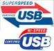 SuperSpeed Highspeed USB